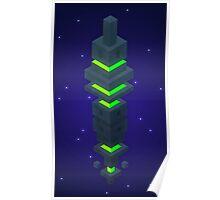 Hexaverse Obelisk Poster