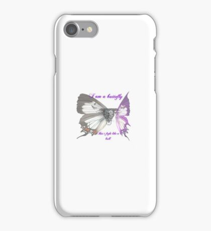Butterfly are bulls phone case iPhone Case/Skin