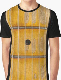 Maple guitar fretboard Graphic T-Shirt