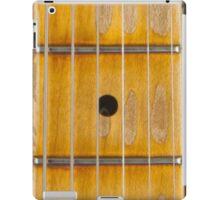 Maple guitar fretboard iPad Case/Skin