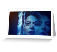 Isabelle Lightwood  Greeting Card