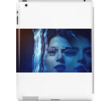 Isabelle Lightwood  iPad Case/Skin