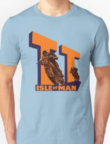 ISLE OF MAN TT VINTAGE ART Unisex T-Shirt