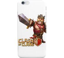 Barbarian King iPhone Case/Skin