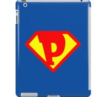 P Super iPad Case/Skin