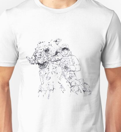 Luke on Hoth art Unisex T-Shirt