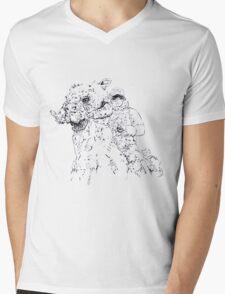 Luke on Hoth art Mens V-Neck T-Shirt