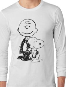 Peanuts meets Star Wars Long Sleeve T-Shirt