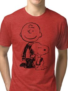 Peanuts meets Star Wars Tri-blend T-Shirt