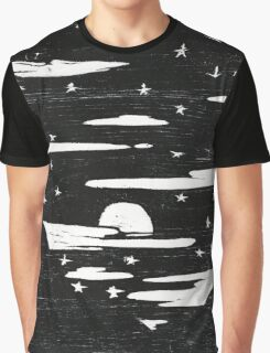 Night sky Graphic T-Shirt