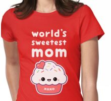 World's Sweetest Mom Womens Fitted T-Shirt