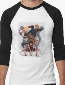 The Monster Trio Men's Baseball ¾ T-Shirt