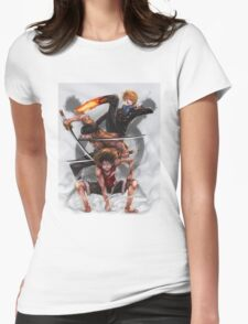 The Monster Trio Womens Fitted T-Shirt