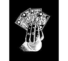 Magic Card Trick Photographic Print