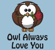 Owl Always Love You Baby Tee