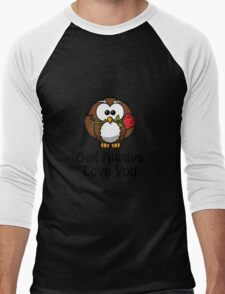 Owl Always Love You Men's Baseball ¾ T-Shirt