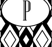 P Diamonds Sticker
