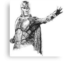 Magneto art Canvas Print