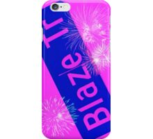 Blaze Trail Fireworks iPhone Case/Skin