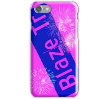 Blaze Trail Fireworks iPhone Case/Skin