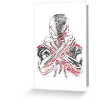 Spider-Man 2099 Greeting Card