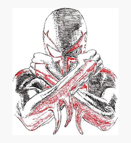 Spider-Man 2099 Photographic Print