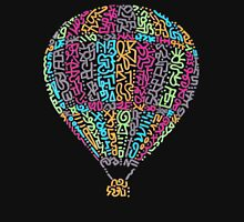 Hot Air Balloon Womens Fitted T-Shirt