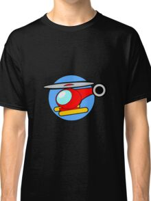 Cartoon Helicopter Classic T-Shirt