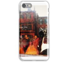 Reflection in historic Shop Window - Harpers Ferry, WV - USA iPhone Case/Skin