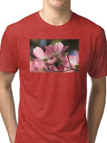 Pink Dogwood Spring Magic Tri-blend T-Shirt