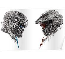 Halo 5 art Poster