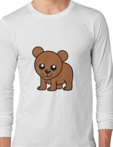 Cute Baby Bear Long Sleeve T-Shirt
