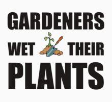 Gardeners Wet Plants Baby Tee