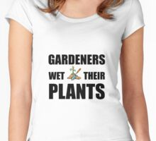 Gardeners Wet Plants Women's Fitted Scoop T-Shirt