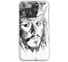 Jack Sparrow art iPhone Case/Skin