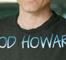 God Howard  Sticker