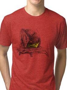 Scorpion Spear Mortal Kombat X Art Tri-blend T-Shirt