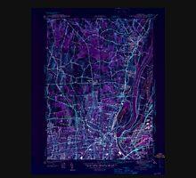 USGS TOPO Map Connecticut CT Hartford North 330880 1945 31680 Inverted Unisex T-Shirt