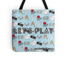 Let's Play Tote Bag Tote Bag