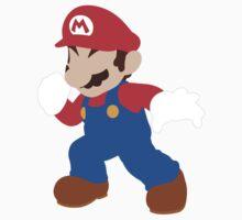 Mario - Super Smash Bros. One Piece - Short Sleeve