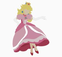 Peach - Super Smash Bros. Baby Tee