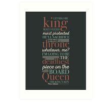 Deadliest Piece - Queen Art Print