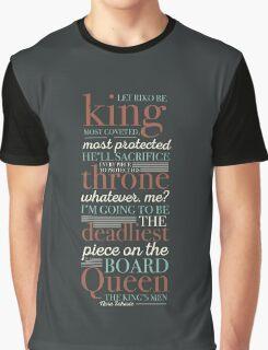 Deadliest Piece - Queen Graphic T-Shirt