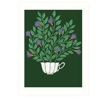A Cup of Tea (Jasmine) Art Print