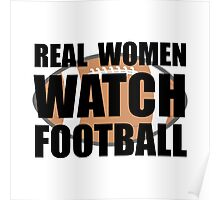 Real Women Football Poster