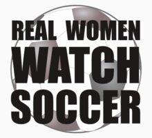Real Women Soccer Kids Tee