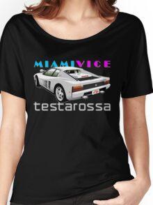 Ferrari Testarossa from Miami Vice Women's Relaxed Fit T-Shirt