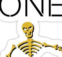 I'd Rather Be Watching Bones Sticker
