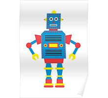a humanoid Poster
