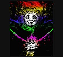crow sun shaman Womens Fitted T-Shirt